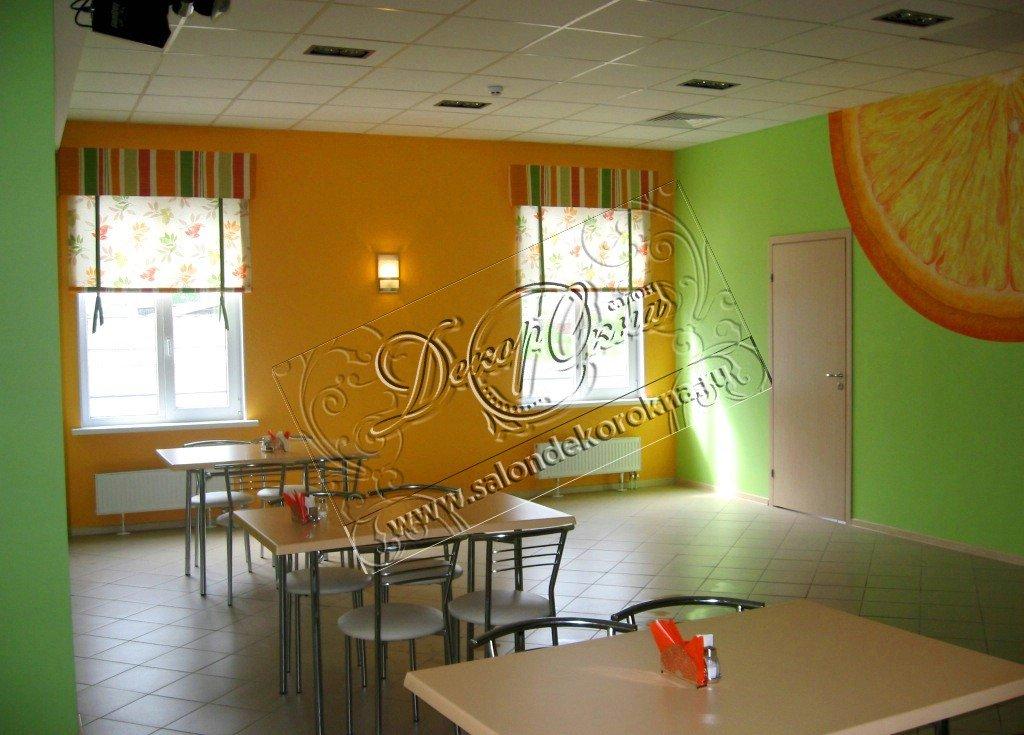 Шторы, портьеры: Шторы для кафе в Декор окна, салон