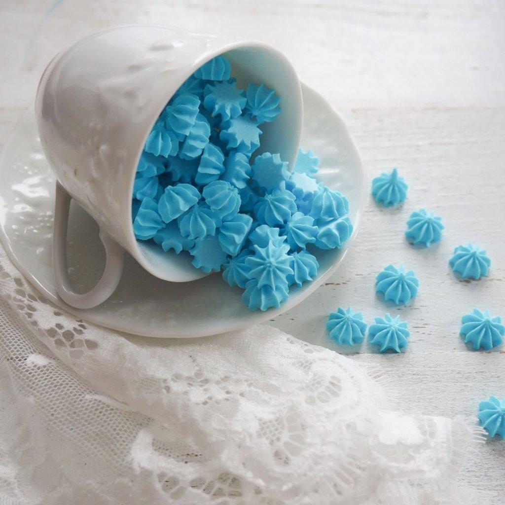 Украшения, декор: Посыпка мини-безе Голубая, 250 гр в ТортExpress