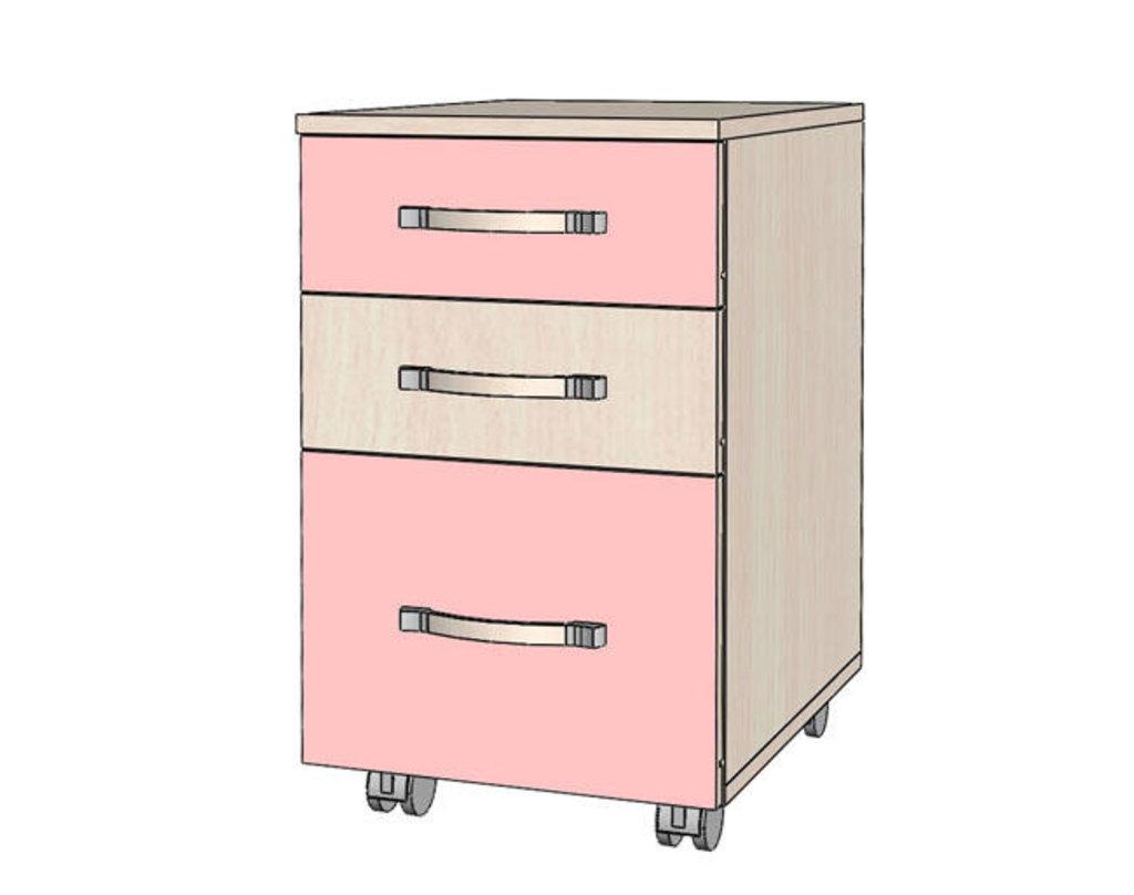 Мебель для детской Буратино. Модульная серия.: Тумба с ящиками Буратино в Уютный дом