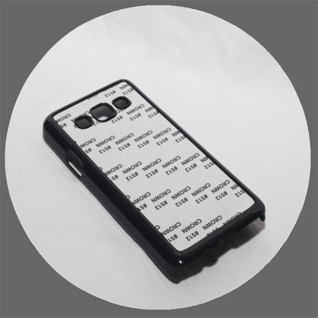 Samsung: Чехол для Samsung Galaxy A3 Черный пластиковый в NeoPlastic