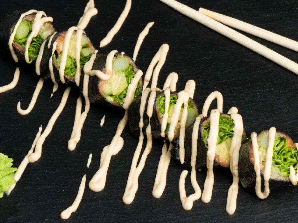 Роллы: Фитнес ролл с овощами в МЭСИ суши&роллы
