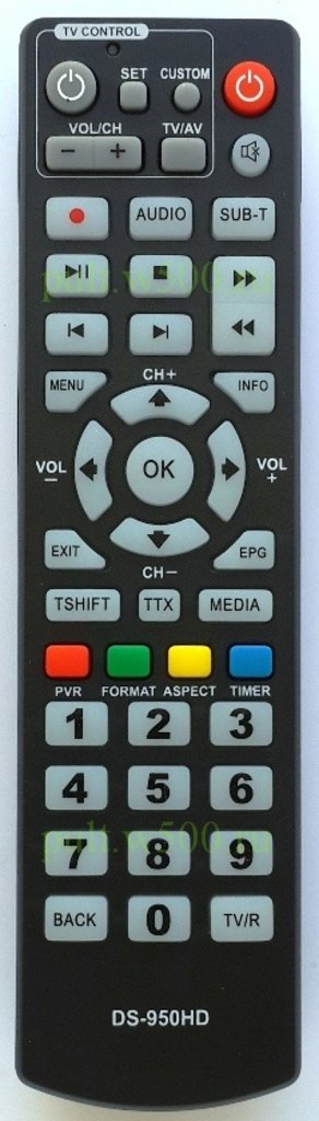 DELTA SYSTEMS: Пульт DELTA SYSTEMS DS-950HD  (DVB-T2) HUAYU в A-Центр Пульты ДУ