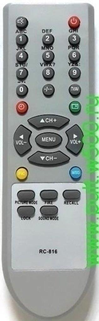 SHIVAKI: Пульт SHIVAKI RC-816 General,Trony (TV sound mode)  HUAYU в A-Центр Пульты ДУ