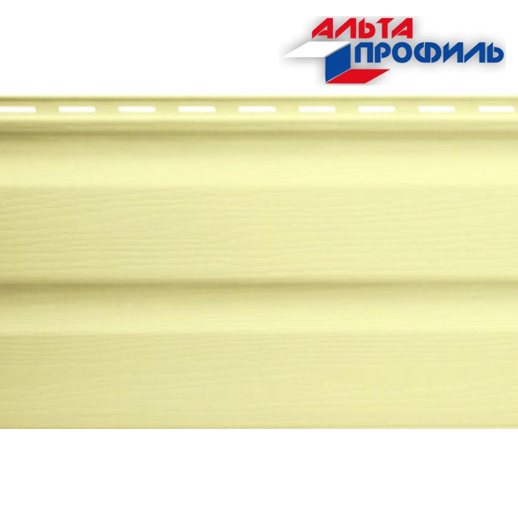 Виниловый Сайдинг: Альта-Сайдинг, виниловый, лимонный, 3,66м в АНЧАР,  строительные материалы