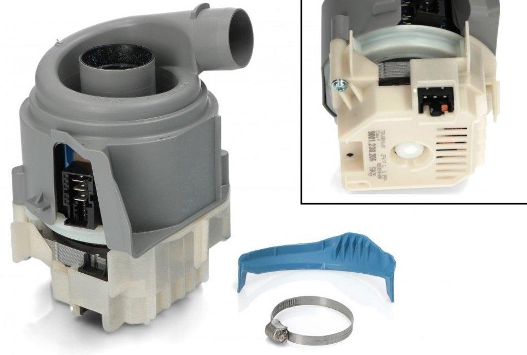 Запчасти для посудомоечных машин: Основной (циркуляционный) насос посудомоечной машины ПММ Bosch, Siemens, Neff, Gaggenau (средний), 12019637, 0012019637 в АНС ПРОЕКТ, ООО, Сервисный центр