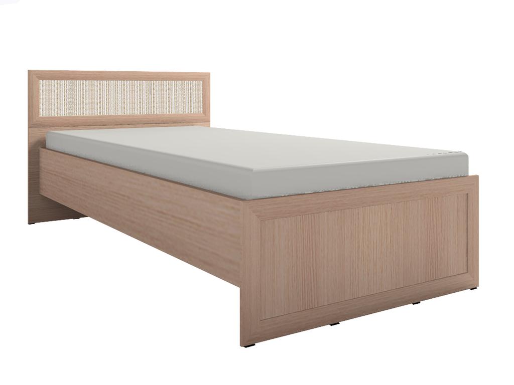 Кровати: Кровать Милана 4 (900, орт. осн. дерево) в Стильная мебель