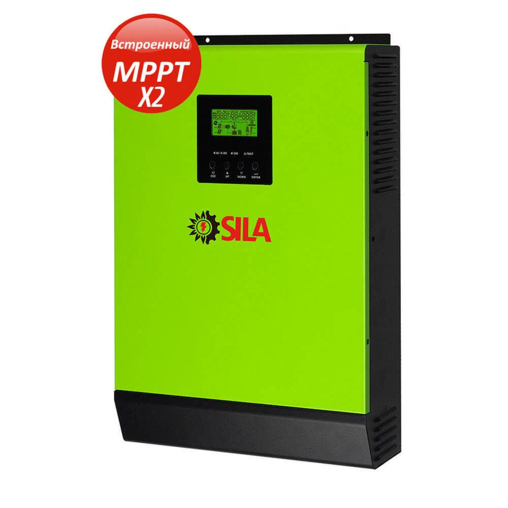 Гибридный солнечный инвертор SILA PRO 5000ML в Горизонт