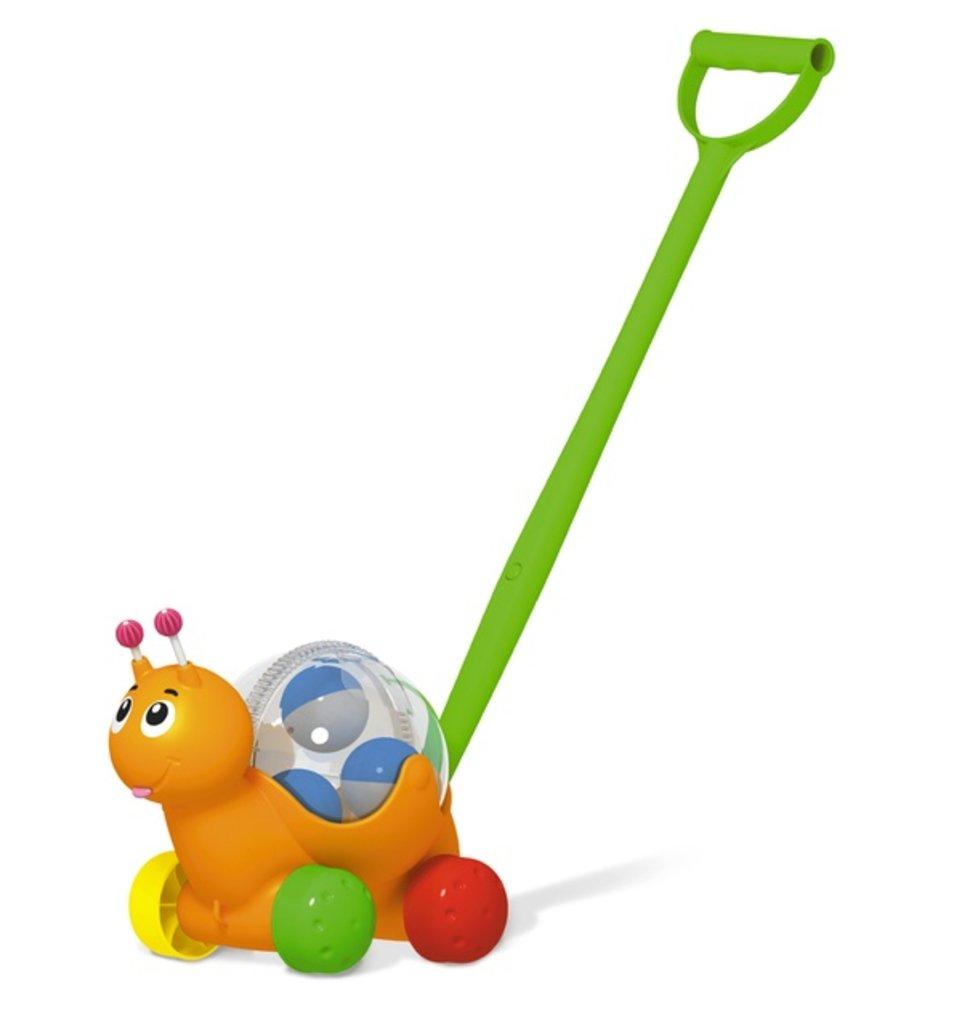"""Игрушки для малышей: Каталка """"Улиточка"""" в Игрушки Сити"""