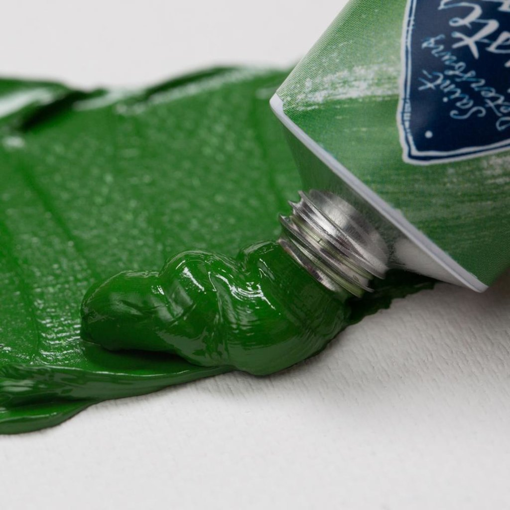 """МАСТЕР-КЛАСС: Краска масляная """"МАСТЕР-КЛАСС""""  английская зелёная светлая  46мл в Шедевр, художественный салон"""