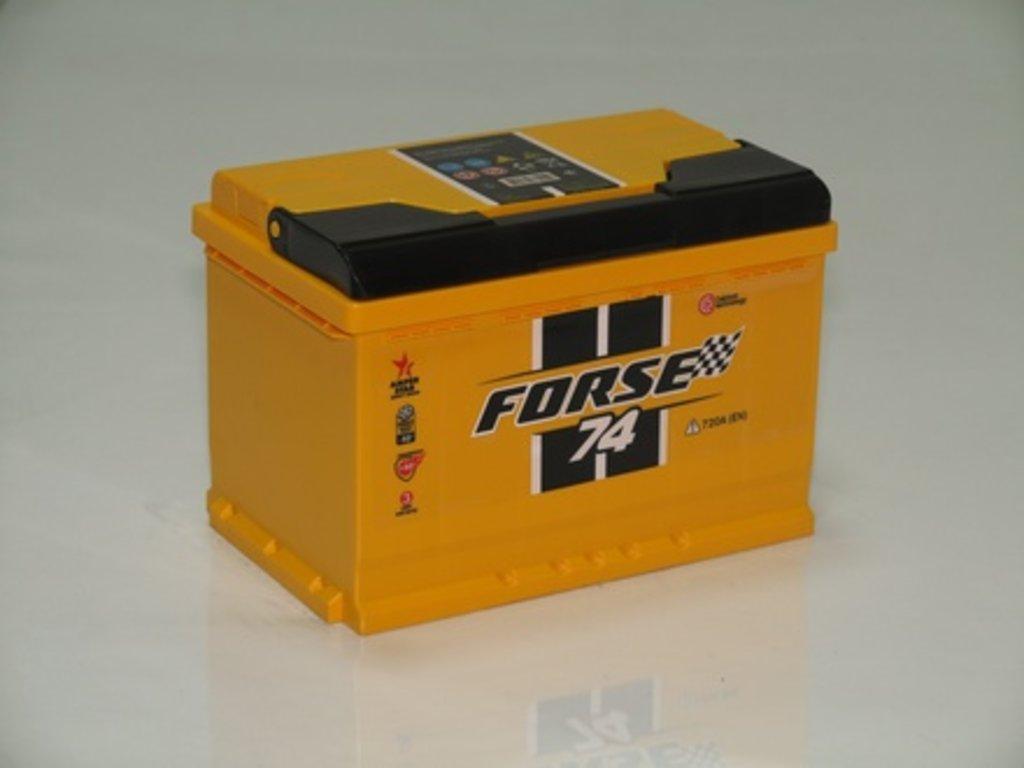 Аккумуляторы автомобильные: FORSE 74 А/Ч R в Мир аккумуляторов
