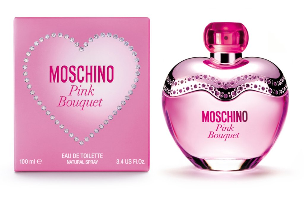 Женская туалетная вода Moschino: Moschino Pink Bouquet Туалетная вода edt ж 100 ml в Элит-парфюм