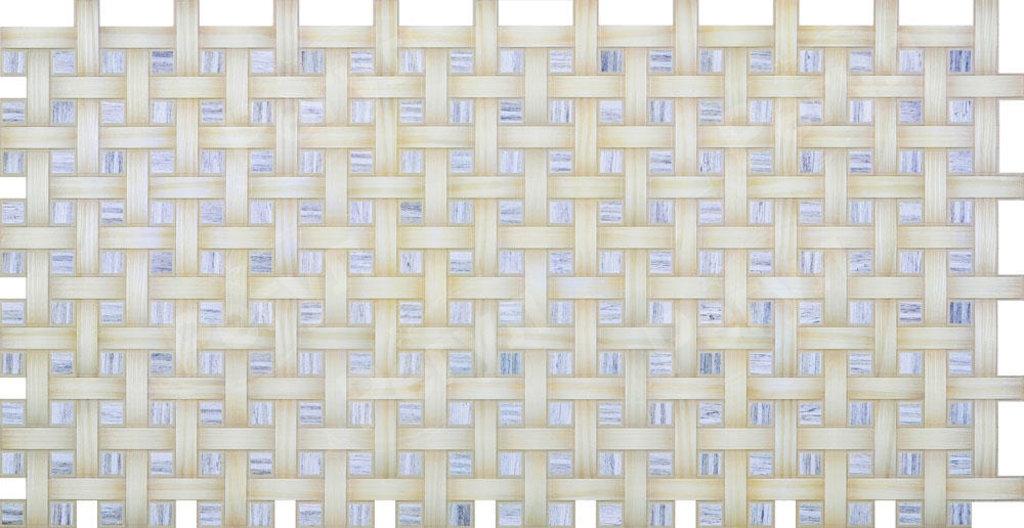 Панели ПВХ: Мозаика Плетенка берёза в Мир Потолков