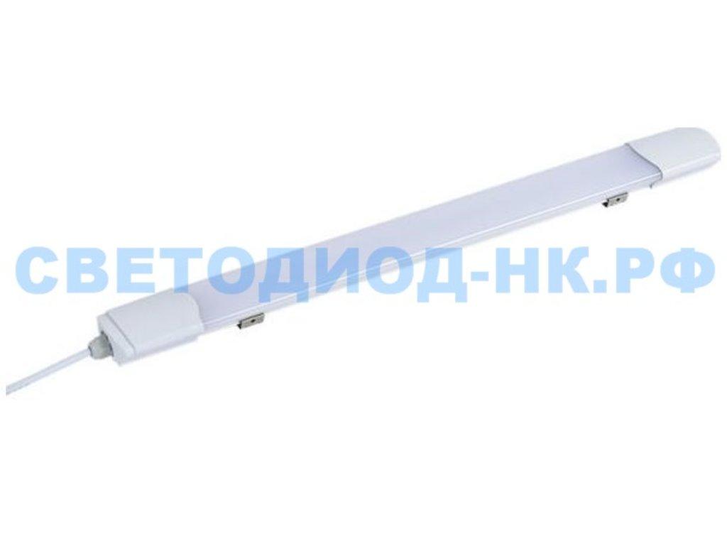 Линейные светильники: Светодиодный светильник Ecola (ЛСП 1x18) 20w (1515Lm) 4200K 585x60x30 IP65 4K 600 LSTV20ELC в СВЕТОВОД