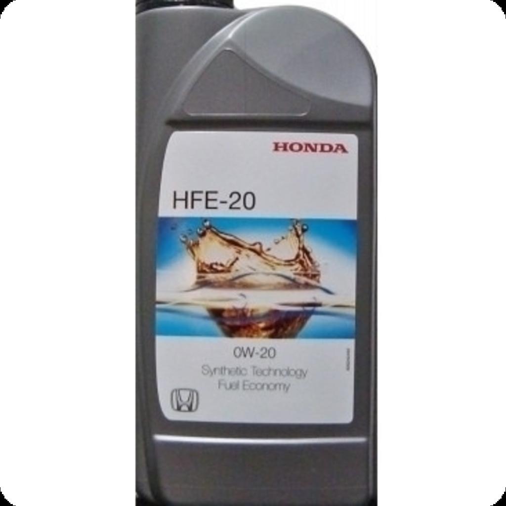 Моторные масла: HFE-20 в Honda Service Vologda