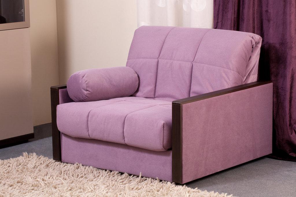 """Кресло-кровать: Кресло-кровать """"Бруклин"""" сирень в Амадео"""