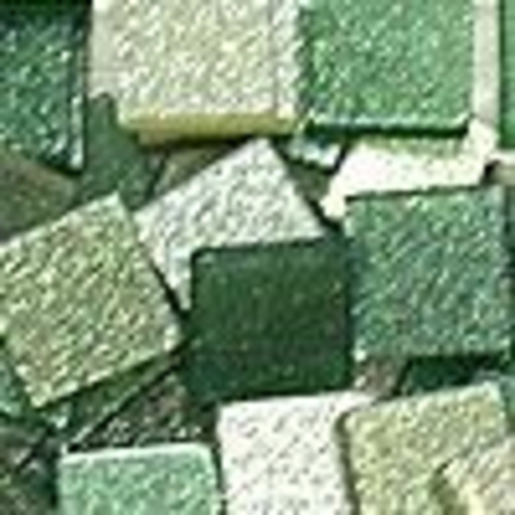 """Мозаика: FOLIA Мозаика """"Тонированная с блестками."""",5х5 мм,700 шт.,оттенки зеленого в Шедевр, художественный салон"""