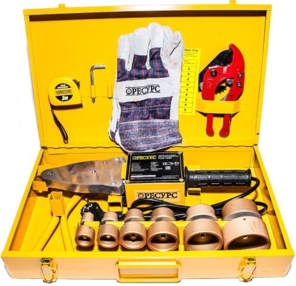Электроинструмент, общее: Аппарат для сварки пластиковых труб РЕСУРС РСА-1500 в РоторСервис, сервисный центр, ИП Ермолаев Д. И.