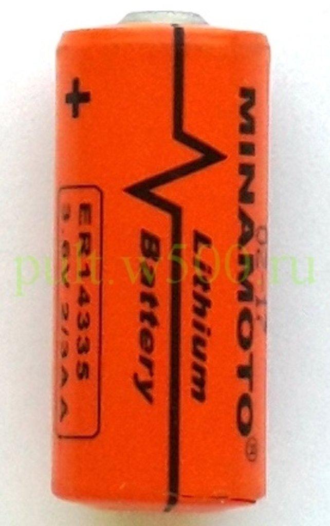Батарейки.: Батарея ER14335 (2/3 AA  3,6 V) MINAMOTO  (1BL) в A-Центр Пульты ДУ