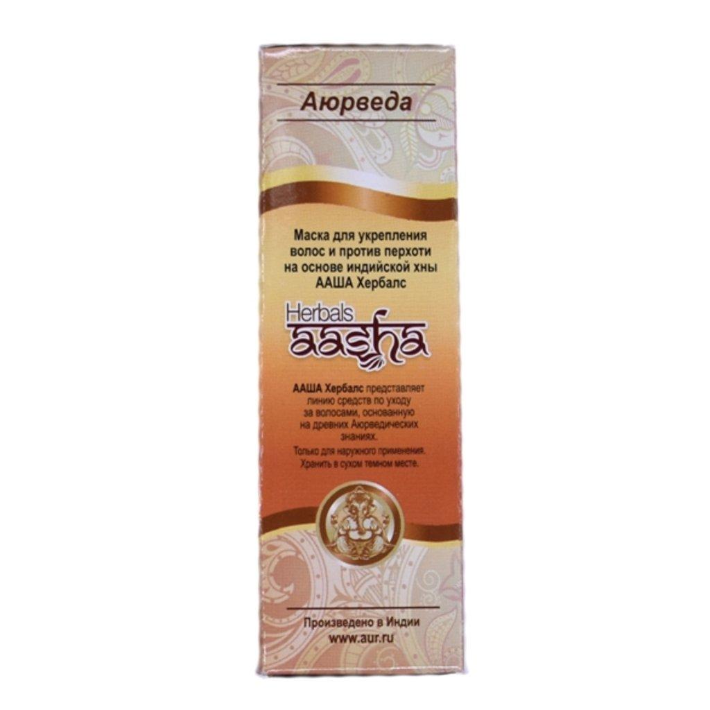 Сухие маски и шампуни: Маска на основе хны для укрепления волос (Herbals Aasha) в Шамбала, индийская лавка
