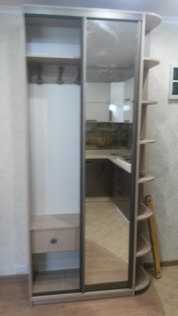 Шкафы-купе: Шкаф-купе 7 в Квадра Мебель
