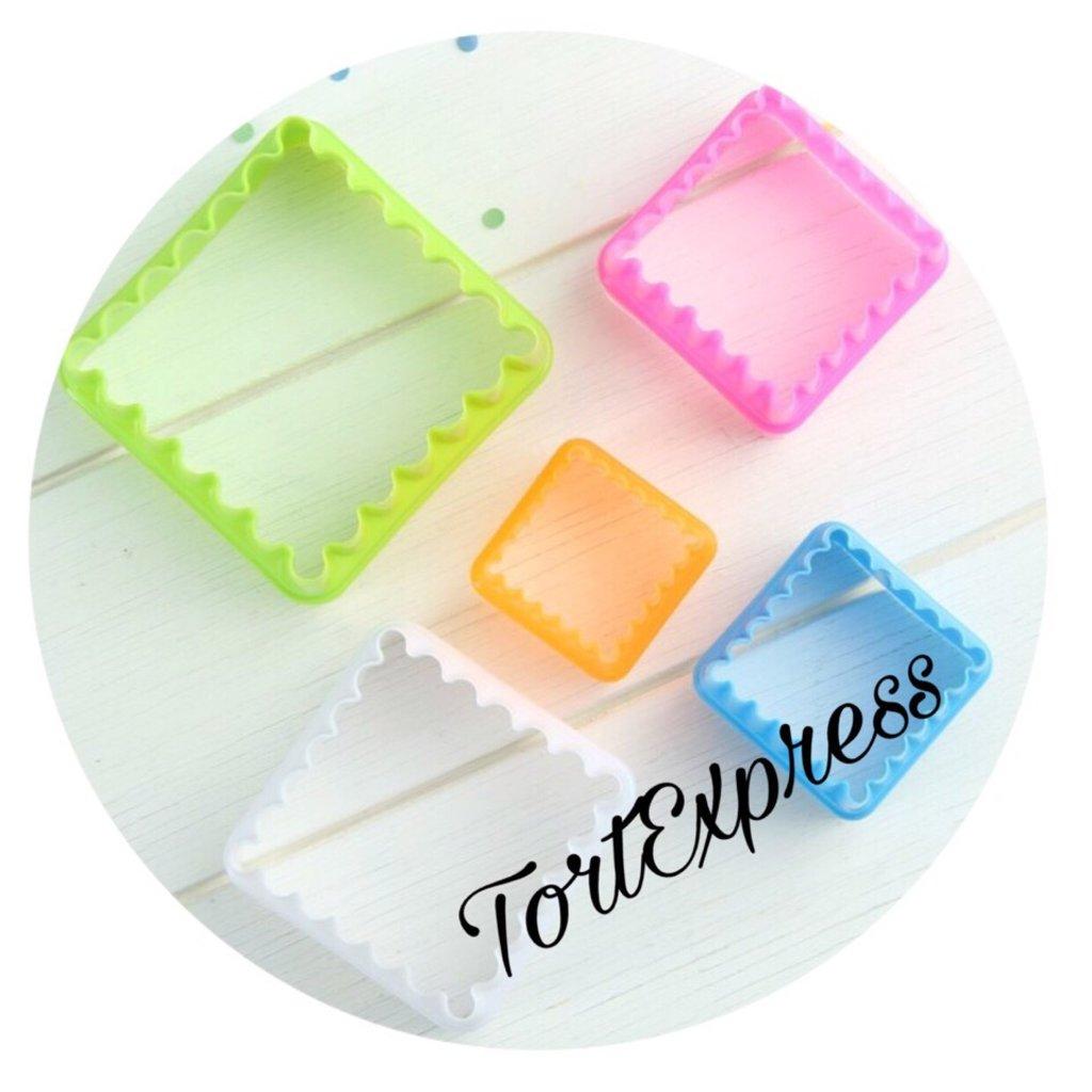 """Вырубки: Набор форм для печенья """"Квадрат"""" в ТортExpress"""