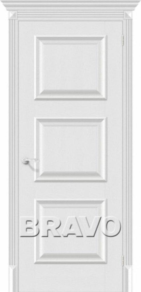 Двери экошпон BRAVO Classico: Классико-16 Virgin в STEKLOMASTER