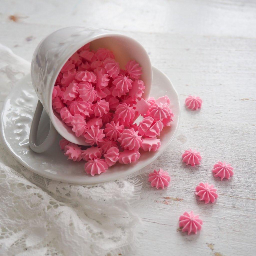 Украшения, декор: Посыпка мини-безе Розовая, 250 гр в ТортExpress