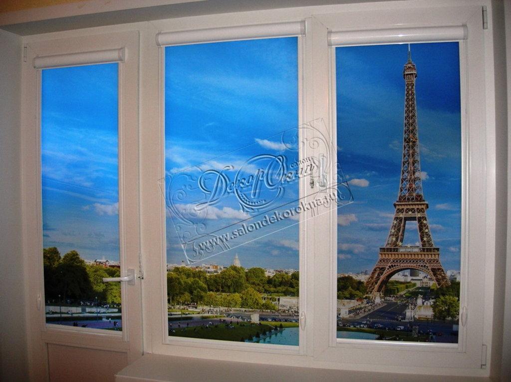 Рулонные шторы: Рулонные шторы с фотопечатью в Декор окна, салон