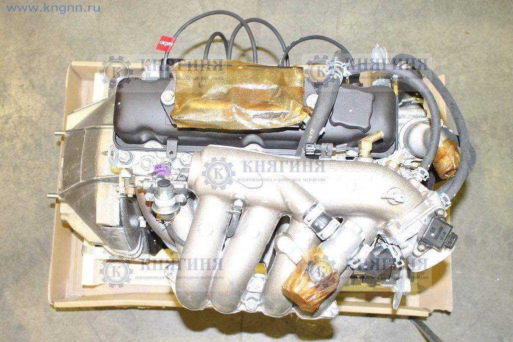 Двигатель: Двигатель УАЗ 4213  99 л.с. (92 б.) инж. с ГУР (лепест. сцепл.) (легк. ряд.) в Волга
