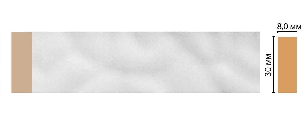 Молдинги: Цветной молдинг DECOMASTER D041-114 (30*8*2400) в Мир Потолков