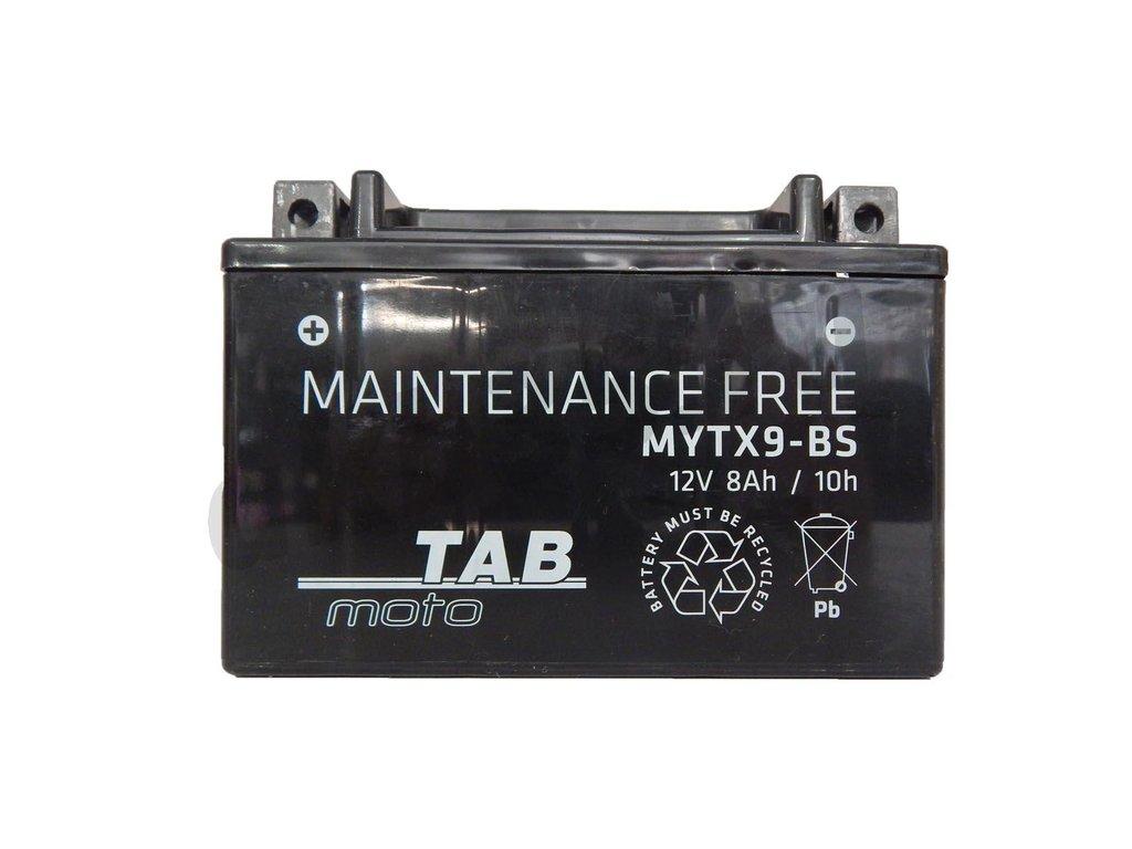 Аккумуляторы: TAB 8 А/ч Прямой YTX9-BS в Планета АКБ