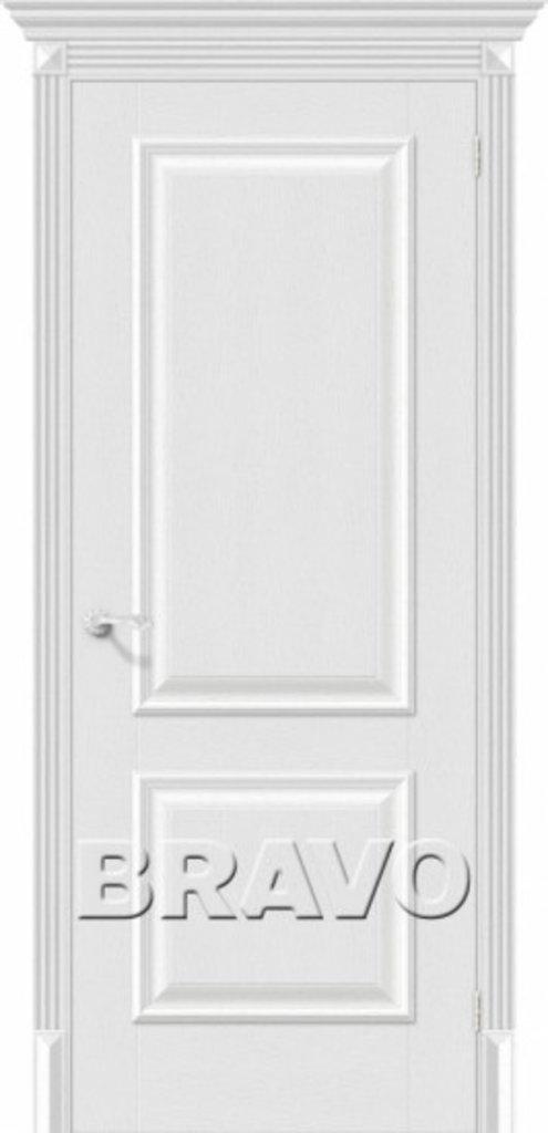 Двери экошпон BRAVO Classico: Классико-12 Virgin в STEKLOMASTER