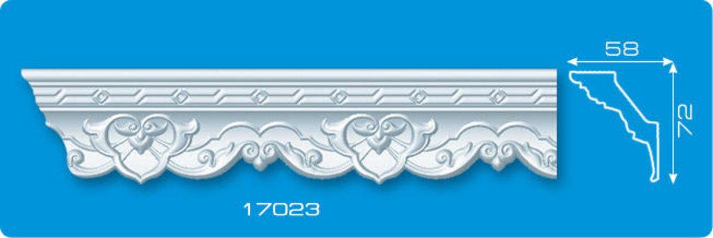 Плинтуса потолочные: Плинтус потолочный ФОРМАТ 17023 инжекционный длина 1,3м, широкий в Мир Потолков