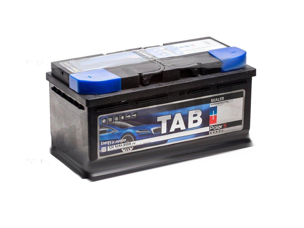 Аккумуляторы: TAB 92 А/ч Обратный Низкий POLAR S в Планета АКБ