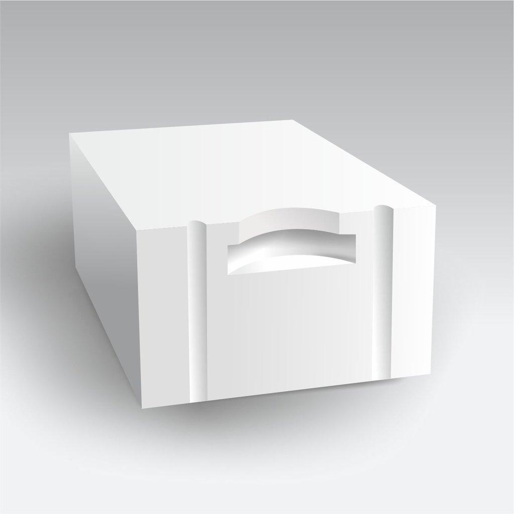 Стеновые блоки из газобетона: Б4-D700-В3,5-F100 (625/400/250 мм) в Сибит