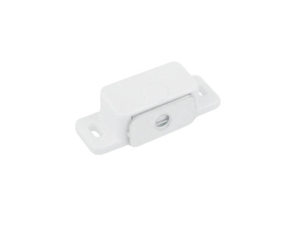 Замки и защелки, общее: Магнит мебельный L-45мм белый в ВДМ, Все для мебели