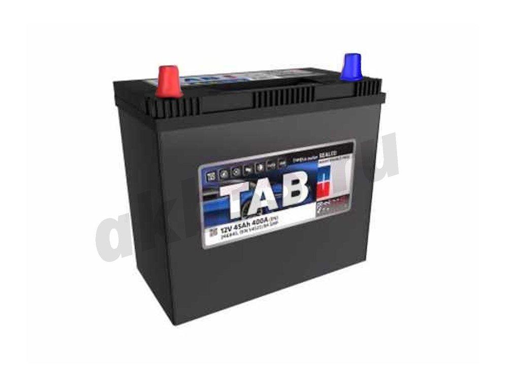 Аккумуляторы: TAB 45 А/ч Прямой Азия JIS B24R в Планета АКБ