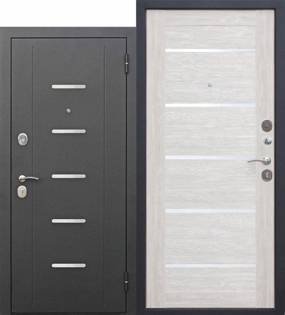 Двери завода Феррони: 7,5 Гарда Муар ЦАРГА Лиственница беж в Модуль Плюс