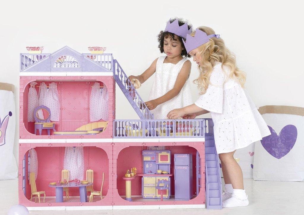 """Игрушки для девочек: Коттедж """" Коллекция """" Огонёк в Игрушки Сити"""