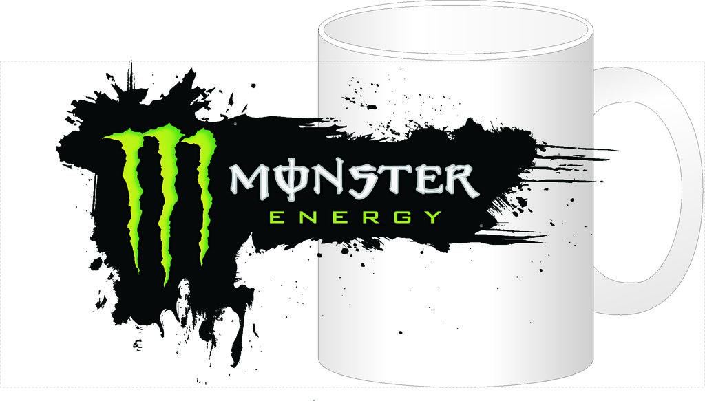 """Выбери готовый дизайн для любой кружки-заготовки: Кружка """"Monster Energy"""" в NeoPlastic"""