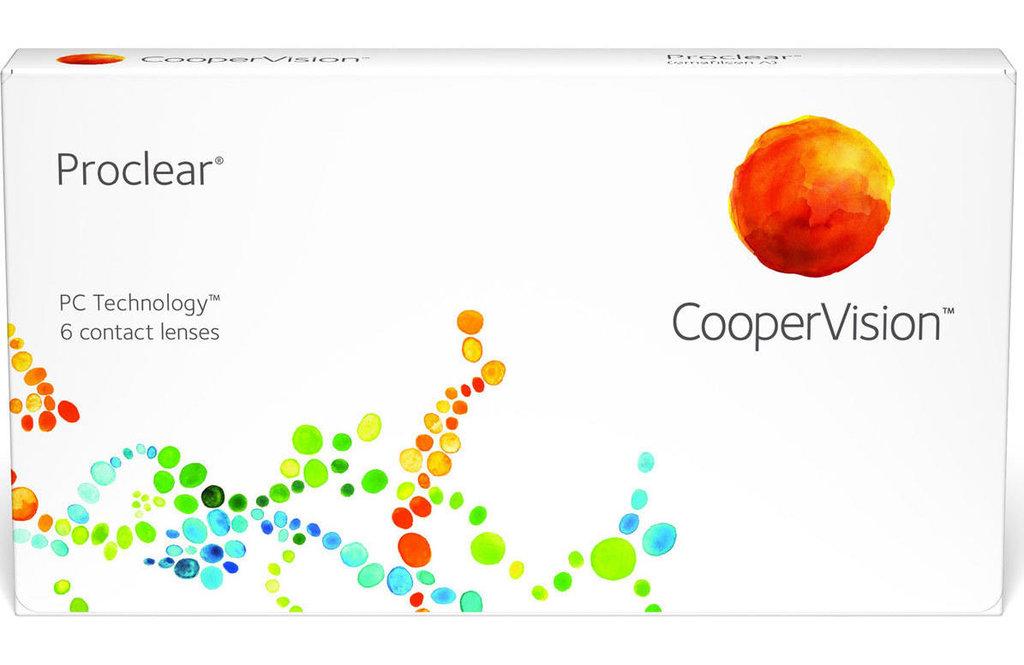 Контактные линзы: Контактные линзы Proclear (6шт / 8.7) CooperVision в Лорнет