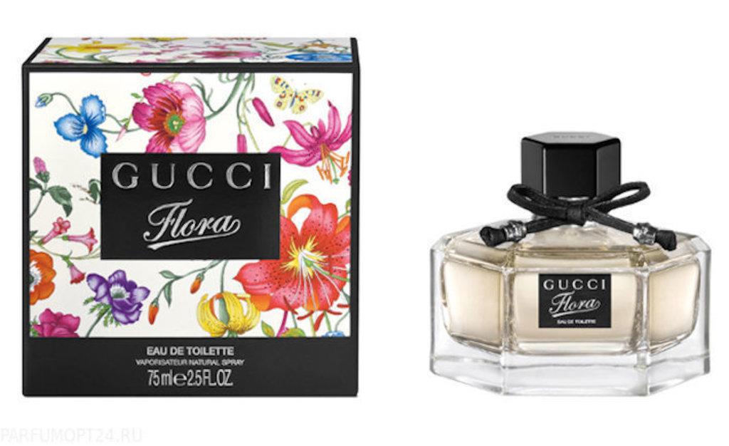 Женская парфюмерная вода Gucci: Gucci Flora By Gucci Туалетная вода edp ж 50мл в Элит-парфюм