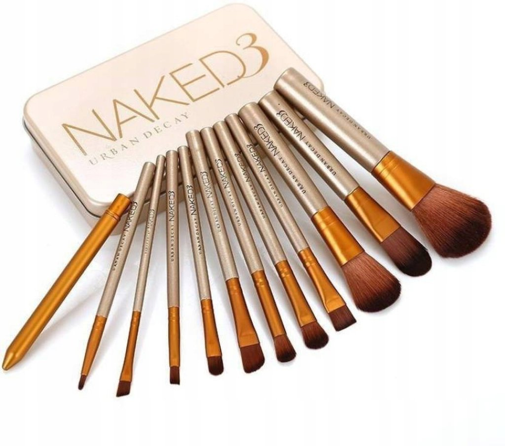 Набор кистей для макияжа Naked3 в Мой флакон