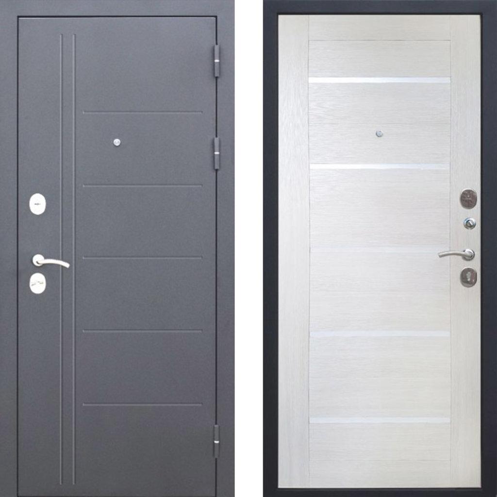 Двери Цитадель: Дверь входная металлическая Троя Серебро 10см в Салон дверей Доминго Ноябрьск