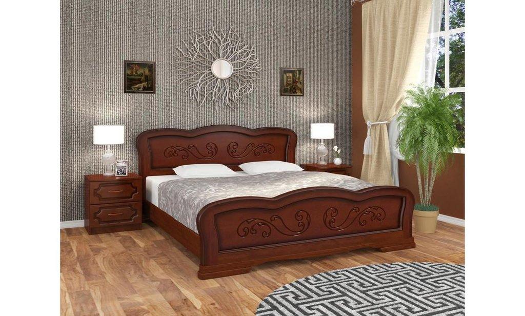 Кровати: Кровать Карина-8 (массив) в Уютный дом