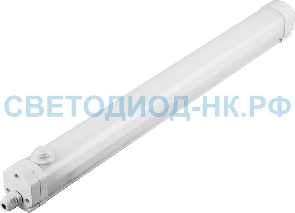 Линейные светильники: Светильник LED герм ССП-158Д-PRO 18Вт 230В 6500К 1200Лм 570мм с датчиком движения IP65 LLT в СВЕТОВОД
