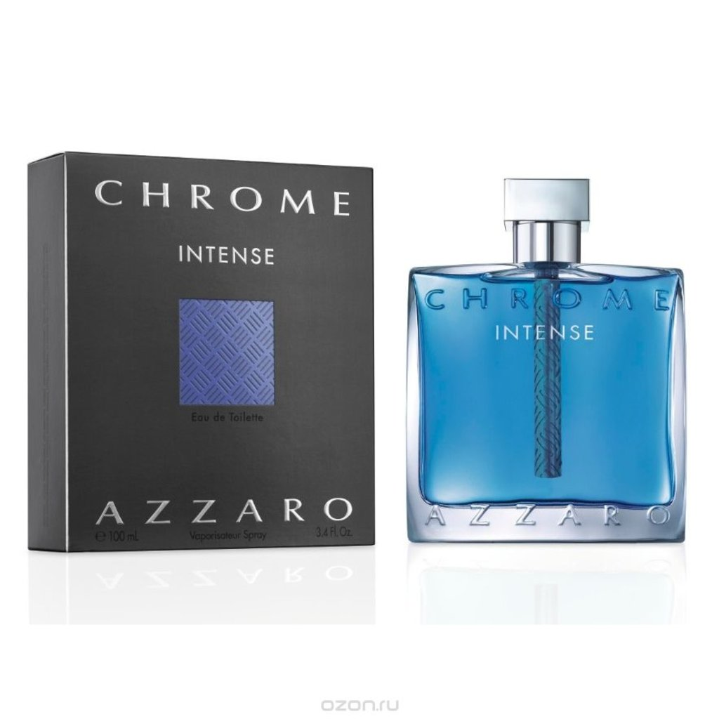Мужская туалетная вода Azzaro: Azzaro Chrome Intense edt м 50 |100 ml в Элит-парфюм