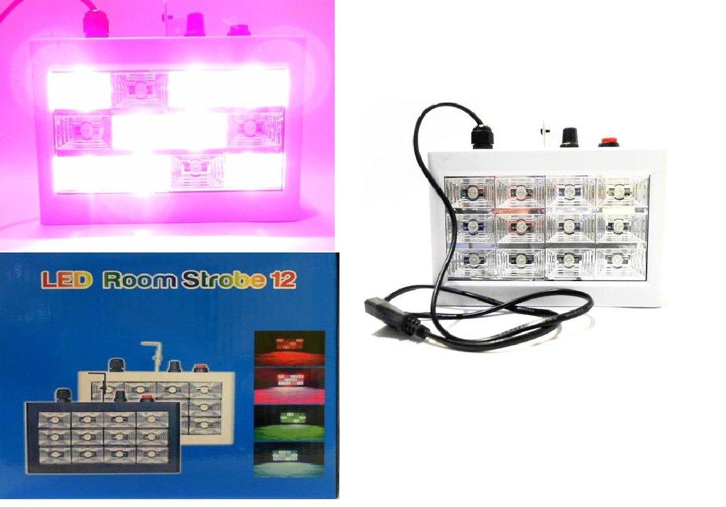 Светодиодные фигуры, приборы: Светомузыка 12 диодов RGB в СВЕТОВОД