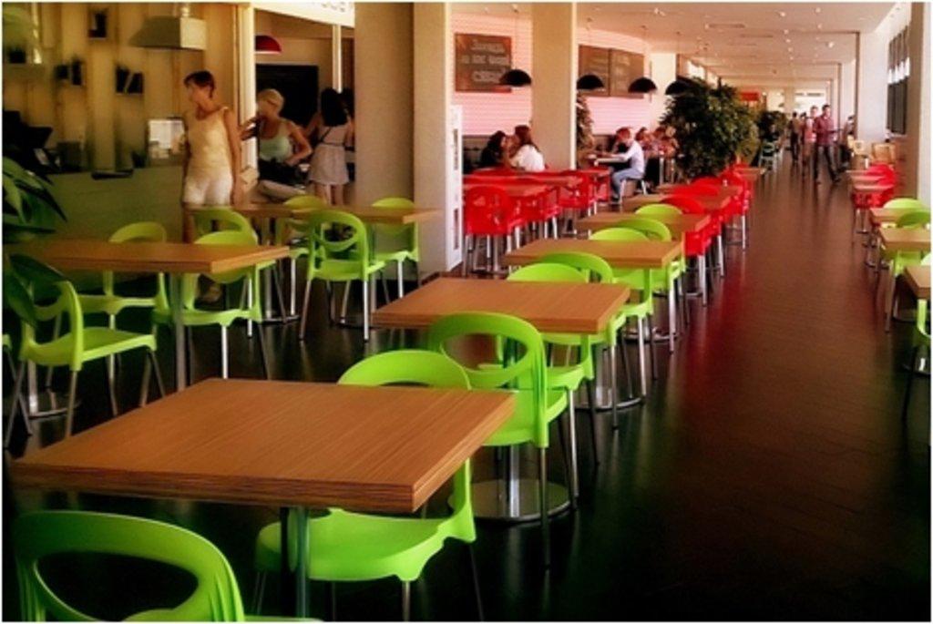 Стулья для кафе, фуд-корта.: Стул ПФ-2 (хром) в АРТ-МЕБЕЛЬ НН