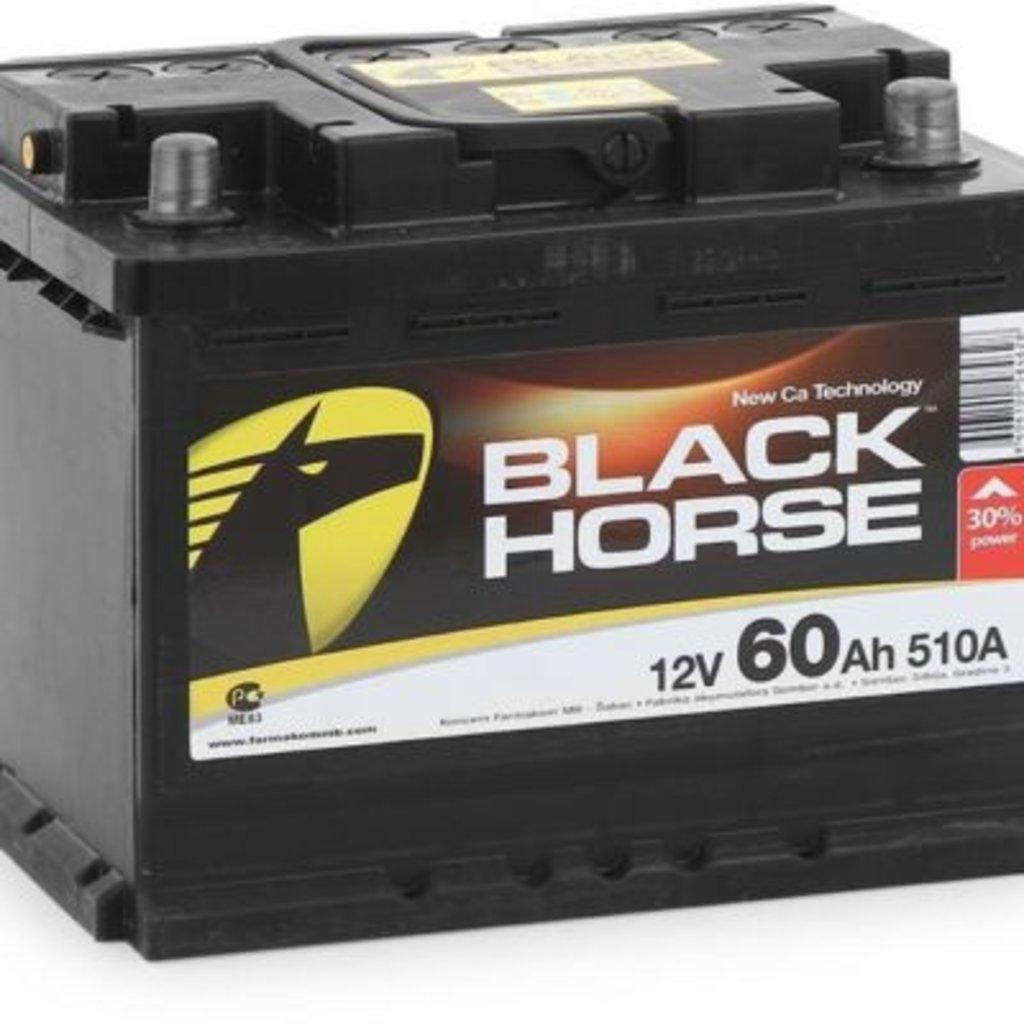 BLACK HORSE: Аккумулятор BLACK HORSE 6CT - 60 в БазаАКБ